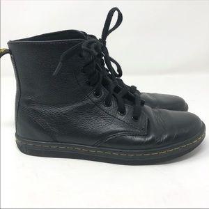 Dr. Martens Size 7 Black Leyton Lace Up Boots